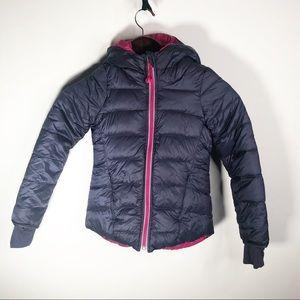Ivivaa Reversible Down Filled Winter Puffer Coat